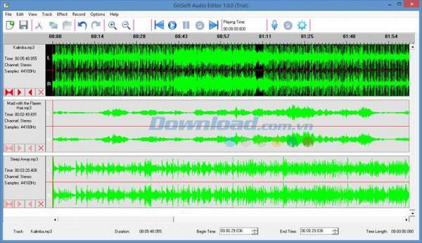 Gilisoft Audio Editor 1.3 - Einfache Audiobearbeitungsanwendung