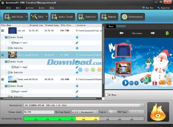 Aiseesoft DVD Creator 5.1.68 - Schnelle DVD-Brennsoftware