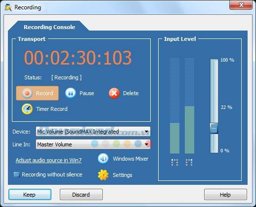 AV Audio Editor 7.5.1 - Professionelle Audiobearbeitungssoftware