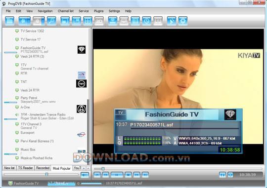 ProgDVB Pro (64 Bit) 7.34.0 - Software zum Ansehen von digitalem Fernsehen und zum Hören von Radio