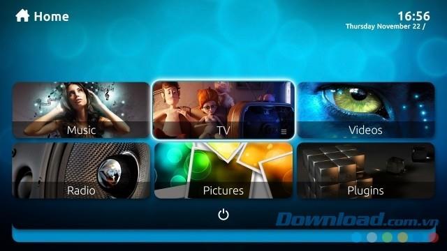 MediaPortal 2.2 - System zum Erstellen von Anwendungen Home Media Center