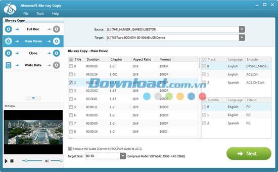 Aiseesoft Blu-ray Copy 7.0.12 - Dienstprogramm zum Kopieren von Blu-ray-Discs