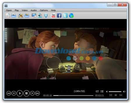 JoPlayer 1.1.3 - Compact Media Player