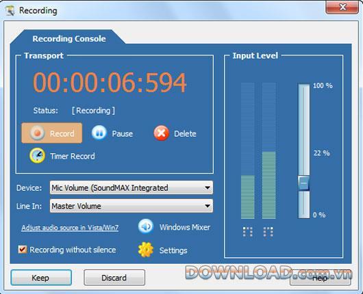 Mp3 Audio Editor 9.0.7 - Brennen von Software-CDs