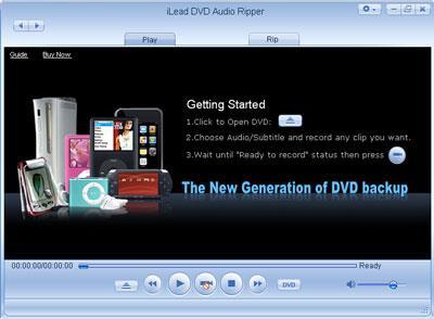 iLead DVD Audio Ripper 4.1.2 - Ein Tool zum Rippen von DVDs