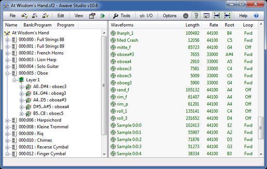 Awave Studio 10.6 - Musikverwaltungssoftware