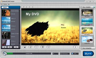 Daniusoft DVD Creator 1.0 - DVD-Brennsoftware