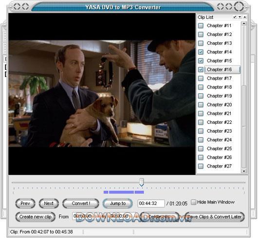 YASA DVD to MP3 Converter - Konvertieren Sie DVD in MP3
