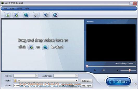 AHD DVD zu AVI - Konvertieren Sie DVD zu AVI