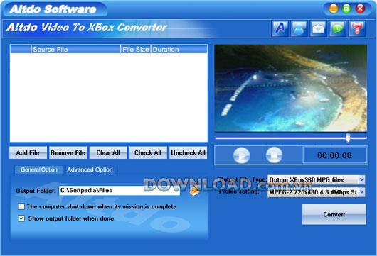 Altdo Video to XBox Converter - Konvertiert Videos in XBox