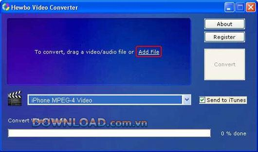 Hewbo Video Converter - Professioneller Videokonverter