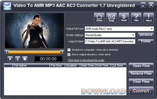 iWellsoft Video zu AMR MP3 AAC AC3 Konverter - Leistungsstarker Audiokonverter