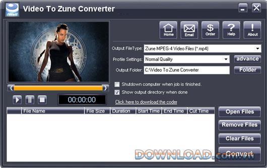 iWellsoft Video zu Zune Converter 2.0 - Konvertieren Sie Videos zu Zune