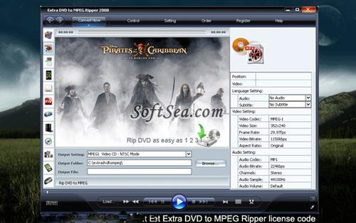 Zusätzliche DVD zu MPEG Ripper