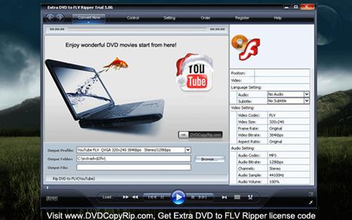 Zusätzliche DVD zu FLV Ripper