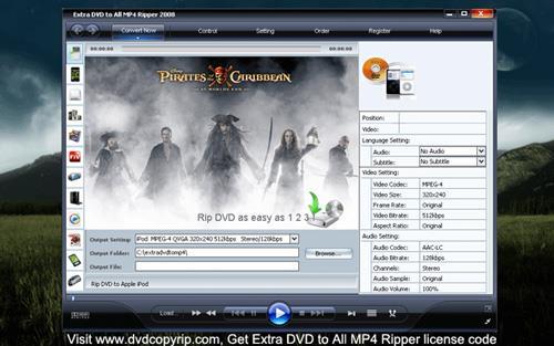 Zusätzliche DVD für alle MP4 Ripper