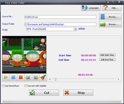 Einfacher Video Cutter
