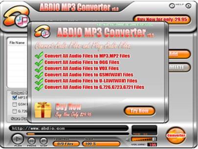 Abdio MP3 Converter