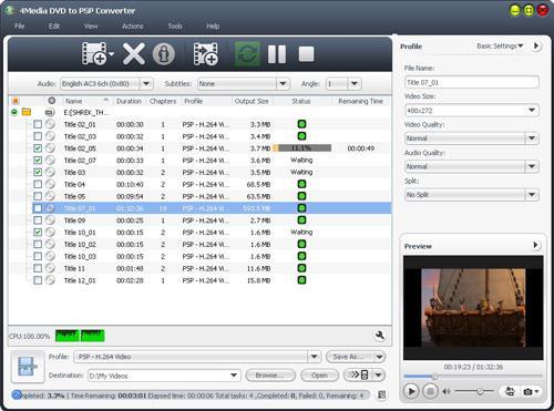 4Meida DVD zu PSP Konverter