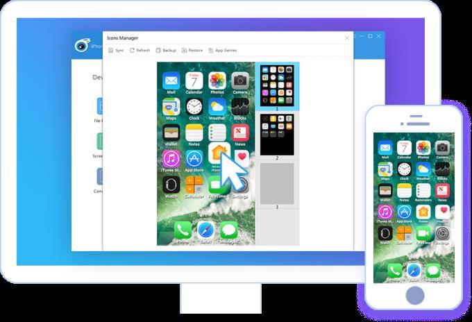 iTools 4.5.0.6 - Verwalten, sichern und Klingeltöne für iPhone / iPad erstellen