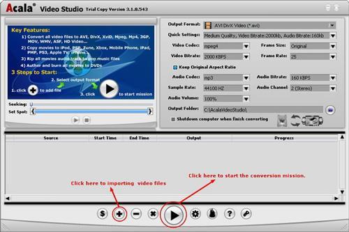 Acala Video Studio