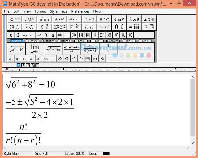 MathType7.4.4-数式エディタ