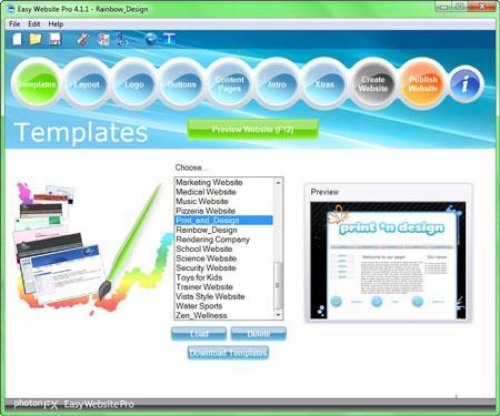Einfache Website Pro