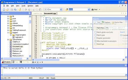 Programmierer-Editor