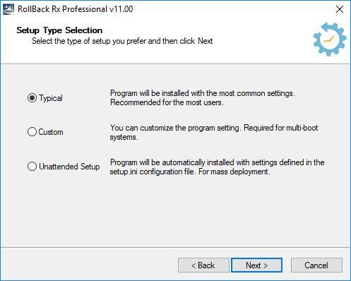 ロールバックRxProfessional11.2ビルド2705924873-強力なシステム回復ユーティリティ