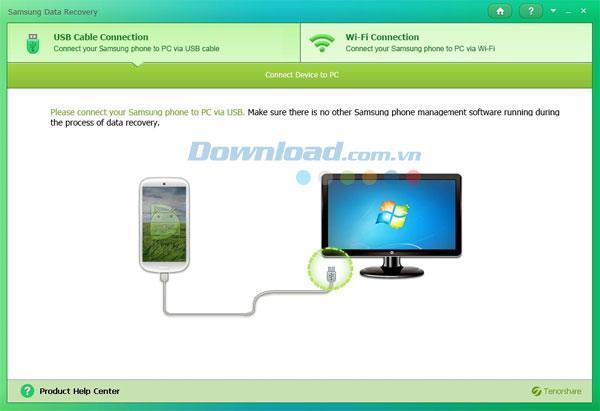 Tenorshare Samsung Data Recovery 1.1 - Datenwiederherstellung für Samsung-Geräte