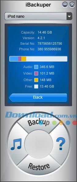 iBackuper 4.5.1 - Sichern und Wiederherstellen von iPod, iPhone, iPad