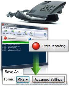 TRx電話レコーダー
