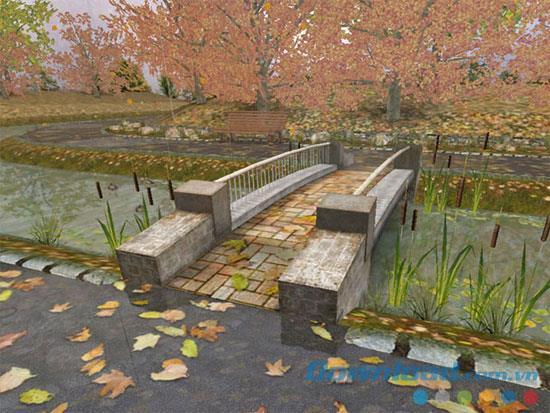 Autumn Time 3D Screensaver 1.0 - Beau fond d'écran d'automne pour votre ordinateur