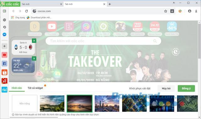 Coc Coc für Mac 90.0.148 - Vietnamesischer Webbrowser für Mac