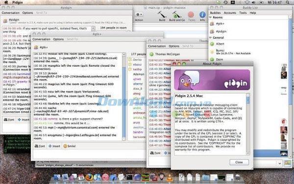 Pidgin für Mac 2.13.0 - Kostenlose Chat-Anwendung auf dem Mac