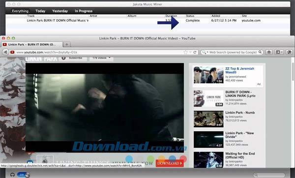 Jaksta Music Miner für Mac 1.2.3 - Software-Download von Musik- und MP3-Tag-Informationen auf den Mac