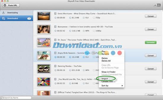 iSkysoft Free Video Downloader für Mac 4.8 - Laden Sie Videos auf den Mac herunter