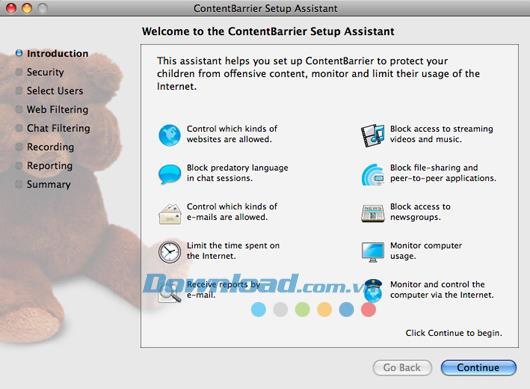 ContentBarrier für Mac 10.6.6 - Erstellen Sie eine sichere Internetumgebung für Kinder
