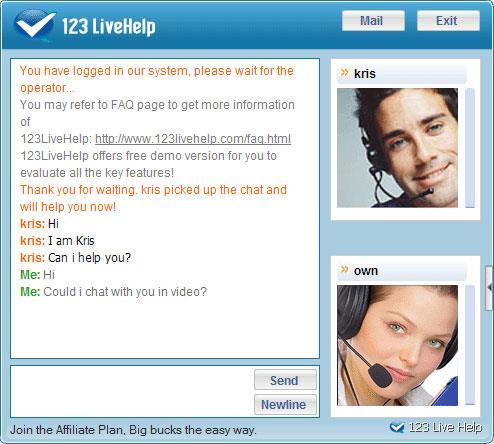 123 Live-Hilfe für Mac