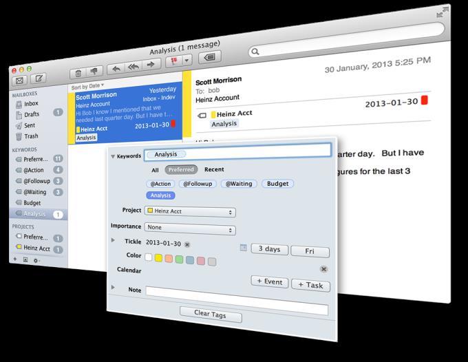 MailTags für Mac 5.0.2 - Effiziente E-Mail-Verwaltung