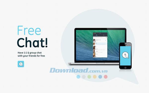 Tictoc für Mac 1.1 - Kostenloser Chat und Chat-Anwendung auf dem Mac
