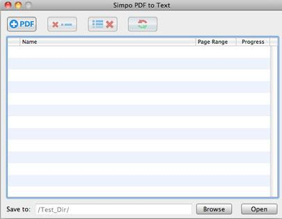 Simpo PDF to Text für Mac
