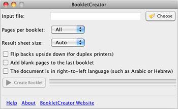 BookletCreator für Mac