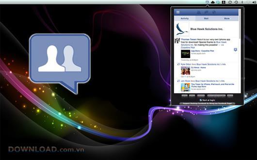 Social Tab für Facebook für Mac