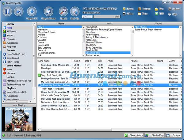 TouchCopy für Mac 16.40 - Kopieren Sie Daten von iPhone und iPad auf den Mac