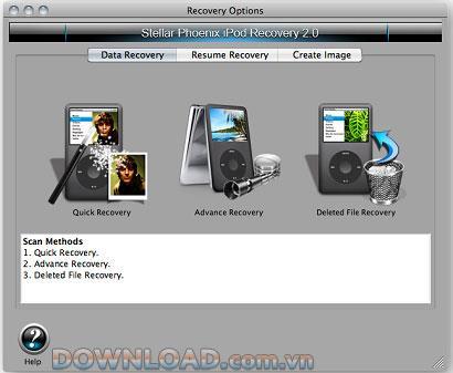 Stellar Phoenix Mac iPod Wiederherstellung