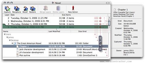 QRecall for Mac 1.2.2 - Software sichern und Daten auf dem Mac speichern