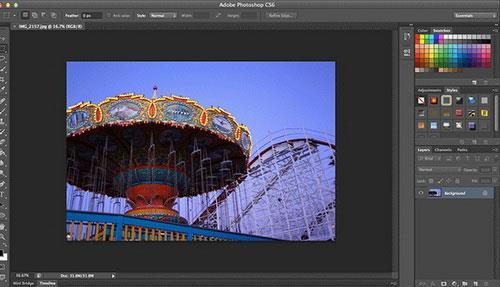 Adobe Photoshop CS6 für Mac 13 - Professionelle Fotobearbeitungsanwendung