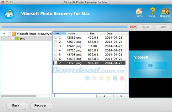 Vibosoft Photo Recovery für Mac 3.2.12 - Stellen Sie Fotos auf dem Mac wieder her