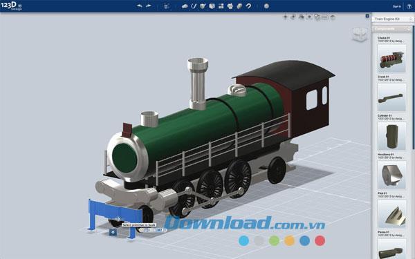 123D Design für Mac 1.3 - Kostenloses 3D-Rendering auf dem Mac